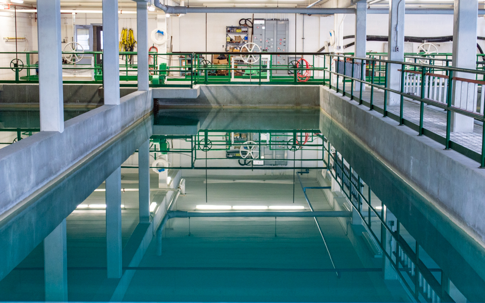 Water Treatment Plant Interior